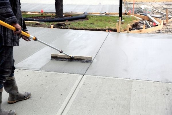 stamped concrete Salem